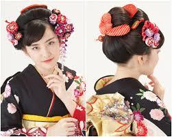 クラシカルモダンな日本髪 Hair And Beauty 和装 ヘアスタイル成人