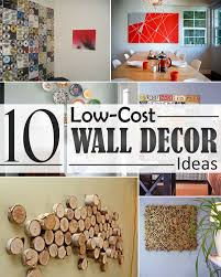 Interior Design Ideas Diy With Low Budget 10 Low Cost Wall Decor Ideas That Completely Transform The