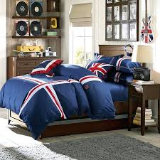 navy and white striped bedding solid color navy blue with red and white stripe print style