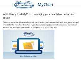 Henry Ford Health Chart My Chart Henry Ford Allegiance Health Best Picture Of