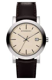 burberry leather strap watch and burberry men burberry leather strap watch nordstrom