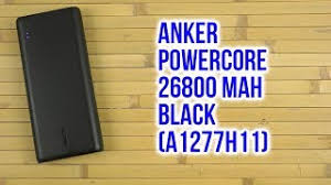 Распаковка <b>Anker PowerCore 26800</b> mAh <b>Black</b> A1277H11 ...