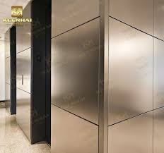 interior decor stainless steel wall