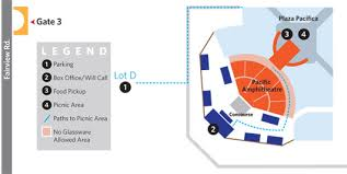 Five Points Irvine Seating Chart Pacific Symphony Pacific Amphitheatre