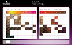 Schwarzkopf Demi Permanent Hair Color Chart Schwarzkopf Professional Igora Vibrance Color Chart 2014 In