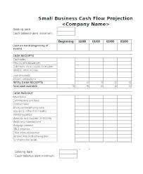 weekly cash flow projection template cash flow forecast for small business sheet template excel example