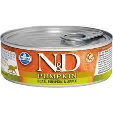 <b>Консервы Farmina N&D Adult</b> Cat GF Pumpkin Boar, & Apple ...