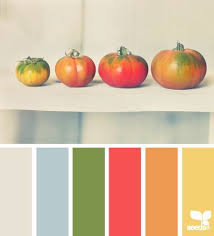 Tomato Color Chart Tomato Tones Design Seeds Ellesheart Art Color