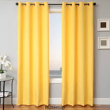 softline sunbrella indoor outdoor grommet top curtain panel free today com 16106828