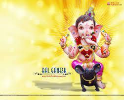 Hd Wallpapers Of God Bal Ganesha ...