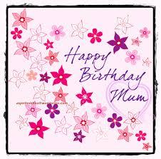 happy birthday mum nice wishes