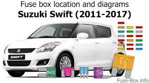 suzuki fuse box location wiring diagram expert fuse box location and diagrams suzuki swift 2011 2017 suzuki vitara fuse box location suzuki fuse box location