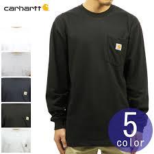 Carhartt Color Chart Car Heart Carhartt Regular Article Men Plain Fabric Long Sleeves Pocket T Shirt Workwear Pocket Long Sleeve T Shirt K126