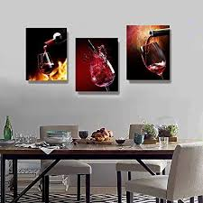 nuolanart canvas wall art 3 panels framed wine canvas prints for home decoration p3s4060x3 1 wall s furniture decor on interior design canvas wall art with nuolanart canvas wall art 3 panels framed wine canvas prints for
