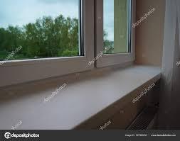 Moderne Kunststoff Fensterbank Innen Stockfoto Belchonock 167390232