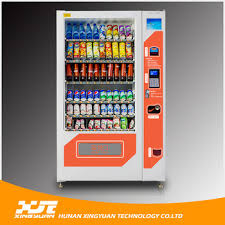 Refrigerated Vending Machine Adorable China Max 48 Selections Refrigerated Vending Machine For Bottled