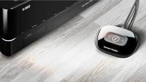 harman kardon wireless surround sound system. harman kardon adapt. the adapt adds wireless music to your existing stereo or home theater system. surround sound system p