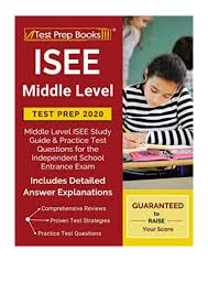 2019) ISEE Middle Level Test Prep 2020 (PDF) Middle Level ...