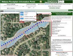 flood information  floodplain maps  tippecanoe county in