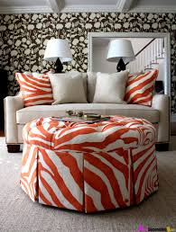 the-le-Suzy-q-better-decorating-bible-boutique-interior-dcor-blog-orange -hue-zebra-spring-easter-design-ideas-print-leather-faux-chair-otto