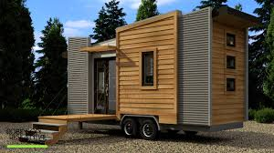 Completed Robinson Dragonfly Tiny House on Wheels (video)