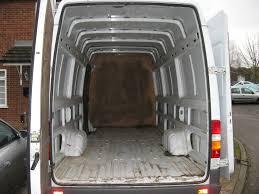 the van arrives bare campervan interior