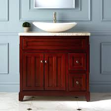 bathroom vanities with vessel sinks walnut sink vanity design home ideas