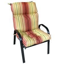 patio chair pillows outdoor high back chair cushions high back within patio cushions high back chairs