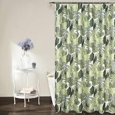 past style green leaves printed waterproof jpg
