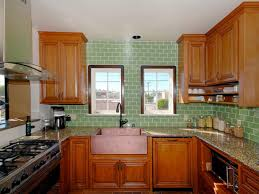 Green Tile Backsplash Kitchen Photo Page Hgtv