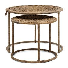 flores coffee table set of 2