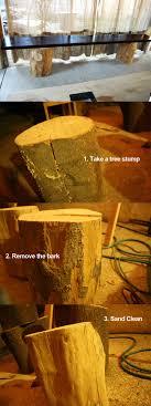 Tree Stump Seats Willingtolearn Tree Stump Table Tags Tree Stump Bench 36 Inch