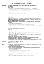 Accounts Receivable Representative Resume Samples Velvet Jobs