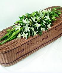 Image result for funeral flowers coffin top  picture