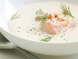 Рецепты кулинарных блюд Контрольная Закупка Сливочный суп с лососем