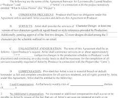 Dancer Contract Template Sample Performance Contract Form