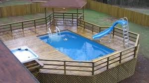 above ground swimming pool ideas. 14 Great Above Ground Swimming Pool Ideas Throughout Cool Regarding Pools Renovation