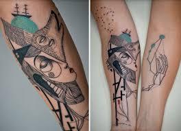 Kubistická Tetování Xxx