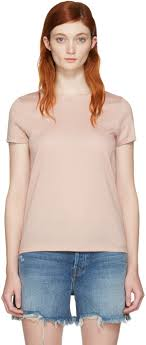 rag bone pink bridgette t shirt women whole rag bone