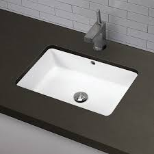 undermount bathroom sink. Simple Sink Lilli Classically Redefined Ceramic Rectangular Undermount Bathroom Sink  With Overflow And A