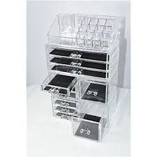 makeup organizer drawers walmart. unique home makeup cosmetic organizer conceal/lipstick/eyeshadow/brushes in one place storage drawers walmart