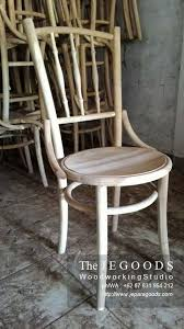 we produce and manufacturing kopitiam chair made of solid teak wood indonesia at factory
