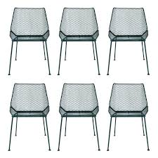 lovely mesh patio furniture or 6 vintage wire mesh outdoor chairs 25 mesh patio chair repair