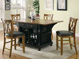 Kitchen Island Table Sets Coaster Fine Furniture 102270 102272 Large Scale Kitchen Island Set