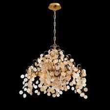 campobasso chandelier in gold by eurofase