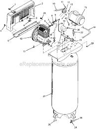 air compressor parts diagram. porter cable cplc7060v parts list and diagram - type 0 : ereplacementparts.com air compressor m