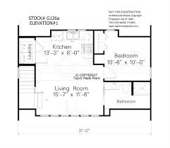 Stock Plan G126a Elevation #1. This Oversized 1 1/2 Story, 2 Car Garage Has  Plenty For Your Cars And Some Storage. The Second Floor Has Vaulted  Ceilings For ...