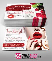 Senegence Business Cards Style 4 Kz Swag Shop