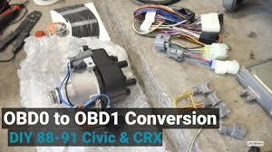how to convert to obd1 for any obd0 civic crx integra youtube  at Honda Civic D16a1 Pcm Wiring Diagram