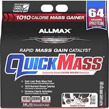 ALLMAX Nutrition QuickMass Rapid Mass Gain ... - Amazon.com